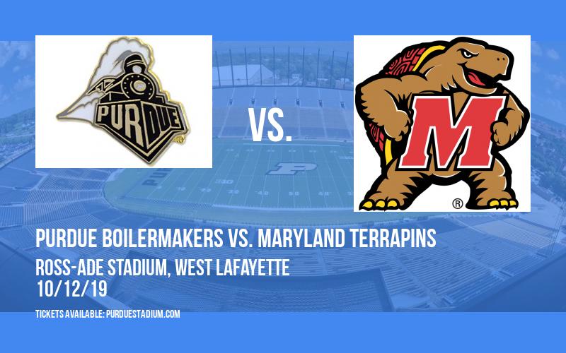 Purdue Boilermakers vs. Maryland Terrapins at Ross-Ade Stadium