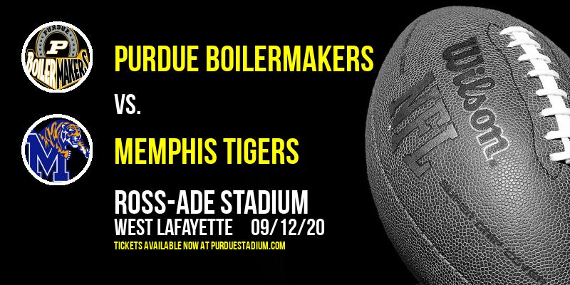 Purdue Boilermakers vs. Memphis Tigers at Ross-Ade Stadium