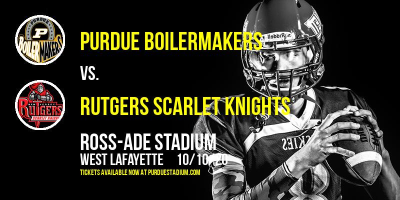 Purdue Boilermakers vs. Rutgers Scarlet Knights at Ross-Ade Stadium