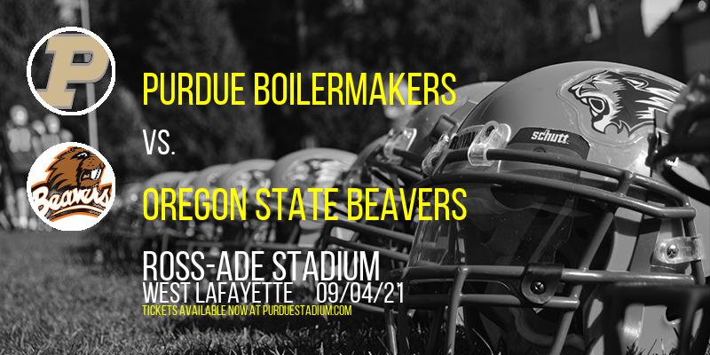 Purdue Boilermakers vs. Oregon State Beavers at Ross-Ade Stadium